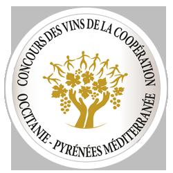 Médaille d'or 2019 au Concours des vins de la coopération Occitanie-Pyrénées Méditerranée