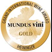 Médaille d'or 2020 au concours Mundus Vini