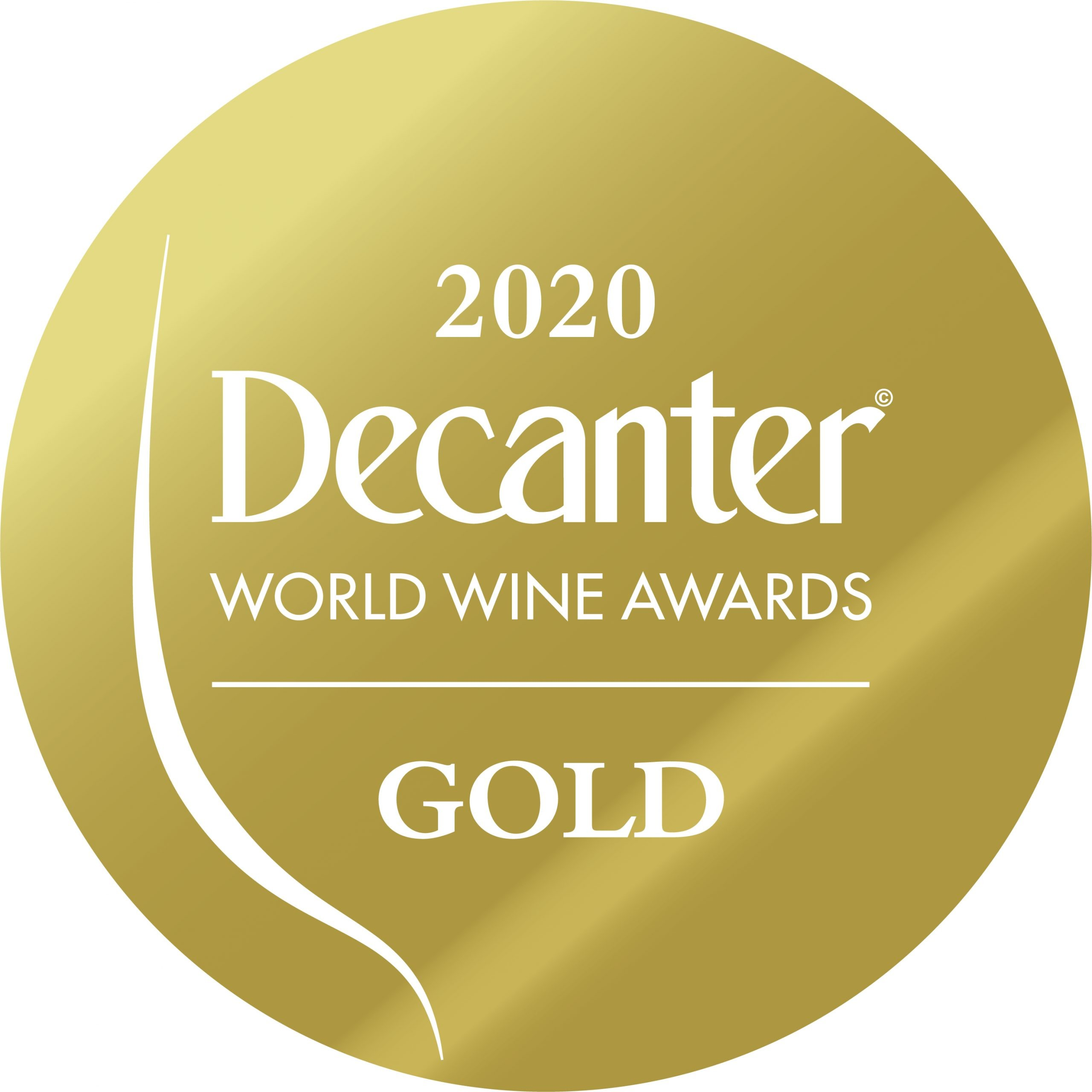 Médaille d'or 2020 au Concours Decanter World Wine Awards