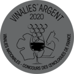 Vinalies d'argent 2020 - Concours des Œnologues de France
