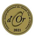 Médaille d'or 2021 au Concours Interprofessionnel des Grands Vins de Corbières