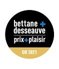 Médaille d'or 2021 au Concours Prix Plaisir Bettane+Desseauve