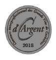 Médaille d'argent 2018 au Concours Interprofessionnel des Grands Vins de Corbières