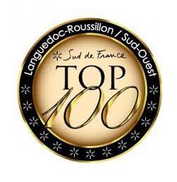 Sélection 2021 dans le TOP 100 UK Languedoc/Sud de France