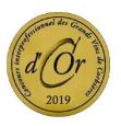 Médaille d'or 2019 au Concours Interprofessionnel des Grands Vins de Corbières